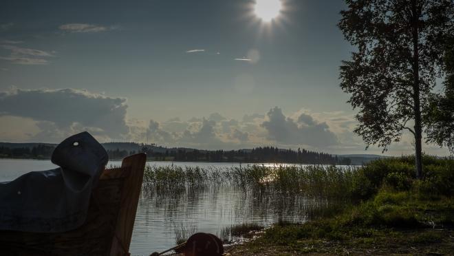 Abendstimmung in Finnland